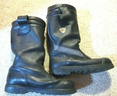 Size 10.5 Wide Mens Haix Fire Hunter Crosstech Boots Firefighter Turnout Gear