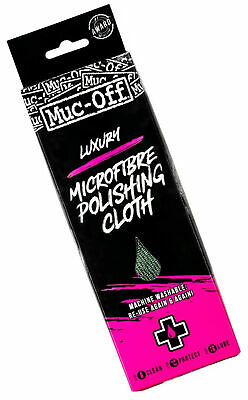 Muc-Off Luxury Microfibre Cleaning and Polishing Cloth for Bikes and torcyles