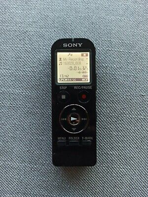 Used Sony ICD-UX533 BLK Digital Voice Recorder