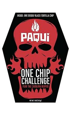 Paqui One Chip Challenge  With Carolina Reaper Pepper