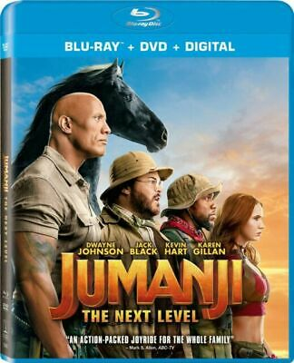 Jumanji: The Next Level (Blu-ray Disc Only with Box) (These Go Fast)