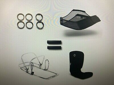 New Bugaboo Bee5 Style Set Stroller Accessories Black Part# 500230ZW01