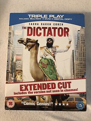 The Dictator (Blu-ray/DVD, 2012, 2-Disc Set, Includes Digital Copy UltraViolet)