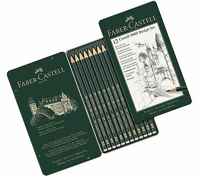Faber-Castell 9000 Design Set 12 x Pencils