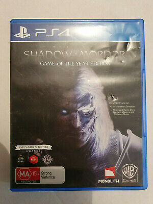 MIDDLE-EARTH: SHADOW OF MORDOR - Game of the Year Edition - PS4 Used