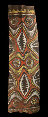 Ecorce peinte Kwoma, painted sago bark ceiling, oceanic art, Papua New Guinea