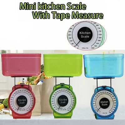 Kitchen Scale Food Baking Mechanical Dial Compact Bowl NEW Bake Cook V2I2
