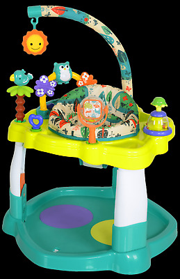 Baby Bouncer Activity Center 360° Seat Rotation Electronic Lights And Sound NEW