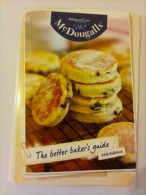McDOUGALLS THE BETTER BAKER'S GUIDE-LATEST 35TH ED.-SIMILAR TO BE-RO BOOK-NEW!!!
