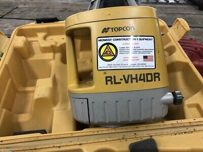Topcon Rotary Visible Red Beam Laser (RLVH4DR) | 4 Available