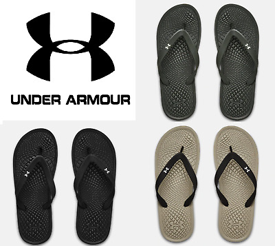 Under Armour Men's UA Atlantic Dune Thongs Sandals Slides Flip Flops - 3022705