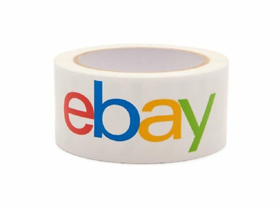 "2"" x 75 yards Classic - Official eBay Branded Packaging Tape 12-Pack"
