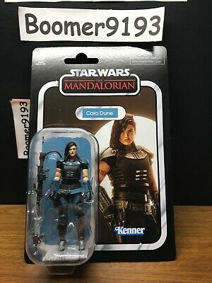 Cara Dune Vintage Collection Star Wars The Mandalorian Action Figure IN HAND