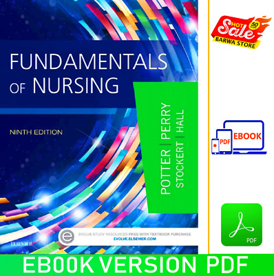 Fundamentals of Nursing [Р.D.F]✅ by Patricia A. Potter 9th edition✅