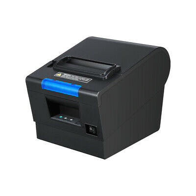US 3'1/8 80mm USB Serial Ethernet Receipt POS Thermal Printer with Auto Cutter