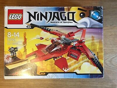 Lego Ninjago 70721 Kai Fighter Complete With Mini Figures And Instructions 16 00 Picclick Uk