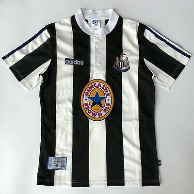 1996-97 Home Football Shirt With SHEARER #9 Printing Adults Retro Soccer Jersey