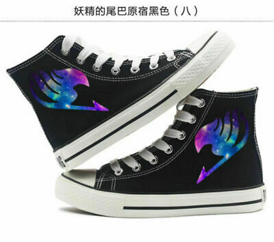 Anime MASS EFFECT N7 canvas Shoes Casual High Gang Canvas Sneakers