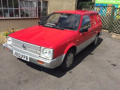 """VERY RARE 1991 NISSAN SUNNY """"AD"""" VAN 1.3  2 OWNERS 42k MILES FROM NEW NEW MOT"""