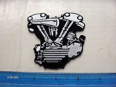 "Harley,Indian,Customs,Vintage Style Knucklehead Motorcycle Jacket Patch. ""Kool"""
