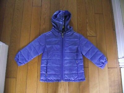 Girls Hooded Coat Age 2-3 Years M&S