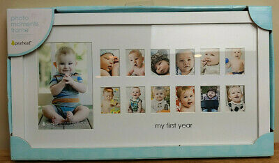 """Pearhead Photo Moments Frame -  17"""" X 9.5"""" My First Year"""