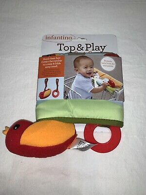 New Infantino Top & Play Shopping Cart Cover