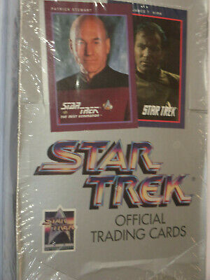 1991 Impel STAR TREK OFFICIAL TRADING CARDS 25th Anniversary SERIES I Sealed box