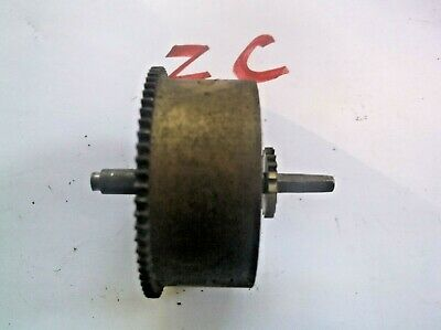 English Mainspring Barrel  From An Old   Mantle Clock  Ref Zc