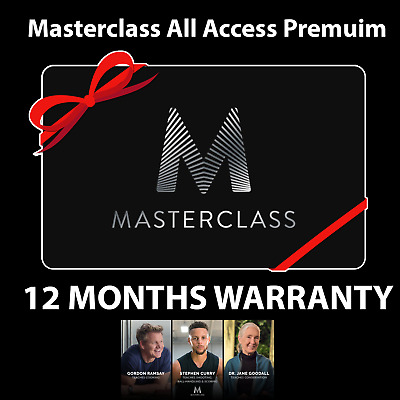 ✔️MasterClass Pro (Account- 3 Years) (Delivery INSTANT) PREMIUM SUBSCRIPTION- ✔️