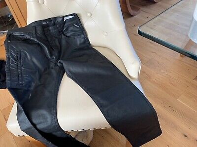 Replay boys black coated jeans are 12
