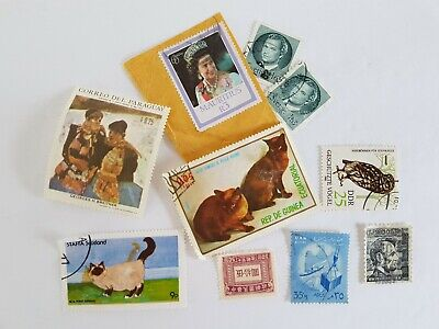 Mixed World Stamp Posted Postmarked Lot #4
