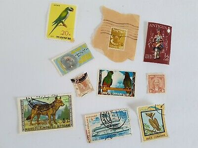 Mixed World Stamp Posted Postmarked Lot #1