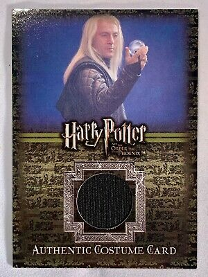 Artbox - Harry Potter and the Order of the Phoenix Costume Card - Lucius Malfoy!