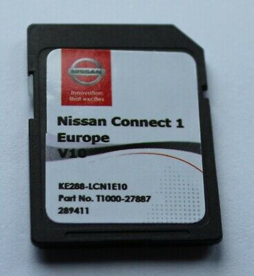 Neu! 2020 NISSAN CONNECT 1 V10 Europa Navigation SD Karte