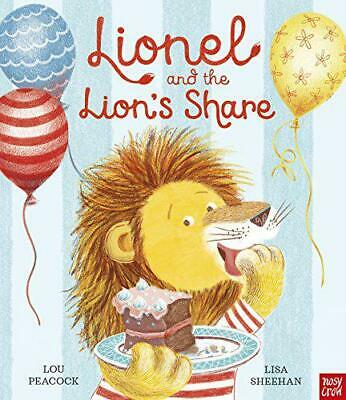 Lionel and the Lion's Share by Lou Peacock, NEW Book, FREE & FAST Delivery, (Har
