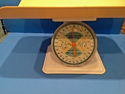 BABY/NURSERY SCALE AMERICAN FAMILY w/Cradle  Excellent Condition & Graphics