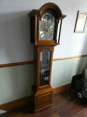 grandmother clock, good condition, 6ft tall