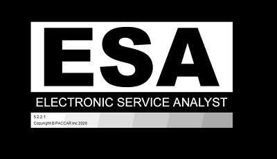 Paccar ESA 2020 Electronic Service Analyst 5.2.2.1 + SW File + Online Support