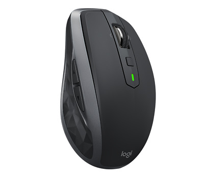 Logitech MX Anywhere 2S Wireless Computer Gaming Mouse - Graphite