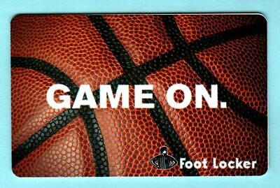 FOOT LOCKER Game On Basketball 2012 Gift Card ( $0 )