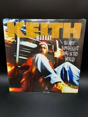 KEITH MURRAY The Most Beautifullest Thing In The World LP Vinyl SEALED Promo