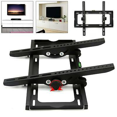 """Support TV mural inclinable ultra plat LED LCD muraux pour écran 23""""- 55"""""""