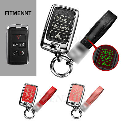 Meal+Luminous Leather Car Fob Key Case Cover For Land Rover Range Rover Sport