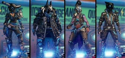 "PS4 Borderlands 3 ""Like, Follow, Obey"" PAX East Event Exclusive Skins And Heads"