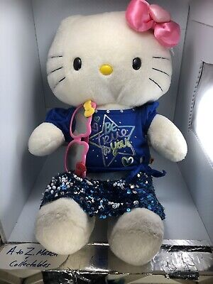 Build a Bear Pink Bow Hello Kitty with Be True to You outfit
