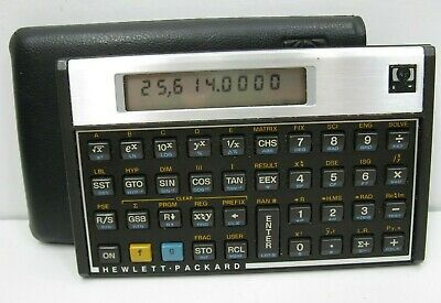 Hewlett Packard HP 15C Scientific Calculator With Case Tested and Works
