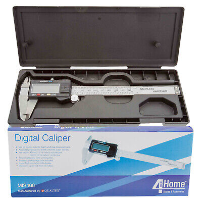 Digital Vernier Hi Res LCD Caliper Micrometer Accurate Gauge Measuring Tool 6""