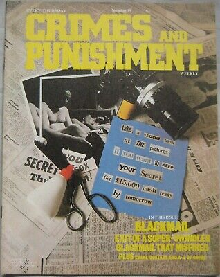 Crimes and Punishment magazine Issue 35 - Blackmail