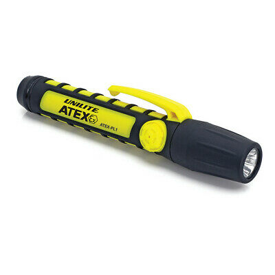 EX MOD UNILITE ATEX CERTIFIED SUPER BRIGHT LED SAFETY TORCH FLASHLIGHT BRAND NEW